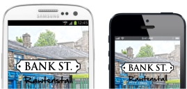 Download Bank Street App